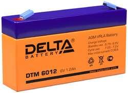 Аккумулятор Delta DTM 6012 (6V / 1.2Ah)