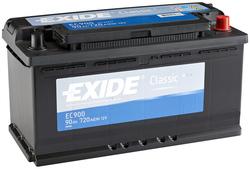 Аккумулятор автомобильный Exide EC900 90 А/ч 720А