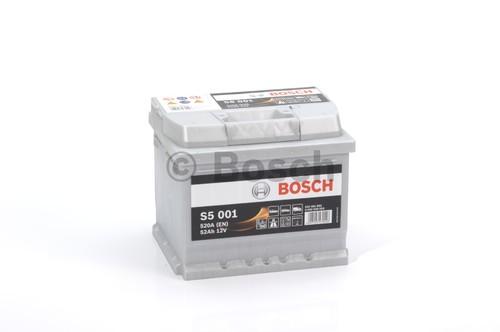 BOSCH S5 Silver Plus (S50 010)  52А/ч  520А