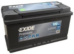 Аккумулятор автомобильный Exide EA1000 100 А/ч 900А