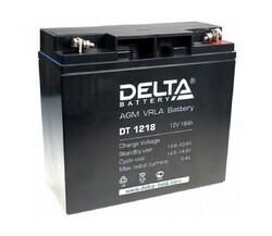 Аккумулятор Delta DT 1218 (12V / 18Ah)