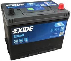 Аккумулятор Exide EB704, 70 А/ч 540А