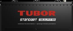 Аккумулятор TUBOR STANDART 135ah, 6СТ-135.3 L