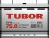 Аккумулятор TUBOR EFB 75ah, 6СТ-75.0 VL
