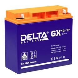 Аккумулятор Delta GX 12-17 (12V / 17Ah)