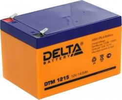 Аккумулятор Delta DTM 1215 (12V / 14.5Ah)