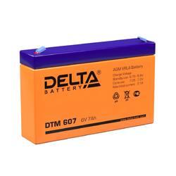 Аккумулятор Delta HR 6-7.2 (6V / 72Ah)