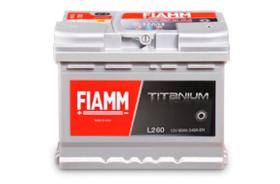 Аккумулятор автомобильный Fiamm BLACK TITANIUM L260