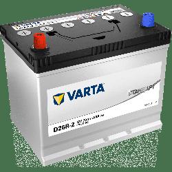 Аккумулятор VARTA Стандарт D26R-2 70ah/620a, 6СТ-70.1