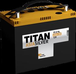Аккумулятор автомобильный TITAN ASIA SILVER 77ah 6СТ-77.0 VL B01