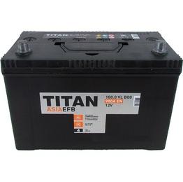 Аккумулятор автомобильный TITAN ASIA EFB 100ah 6СТ-100.1 VL B01