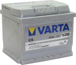 Аккумулятор автомобильный Varta silver dynamic C6 (552401052)