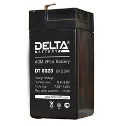 Аккумулятор Delta DT 6023 (6V / 2.3Ah)