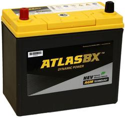 Аккумулятор автомобильный Atlas S46B24R 45А/ч 370А AGM Start-Stop
