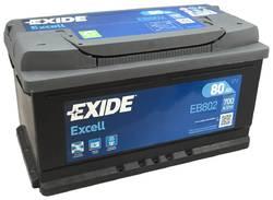 Аккумулятор Exide EB802, 80 А/ч 700А