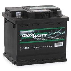 Аккумулятор автомобильный Gigawatt G44R 45А/ч 400A
