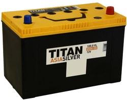Аккумулятор автомобильный TITAN ASIA SILVER 100ah 6СТ-100.0 VL B01