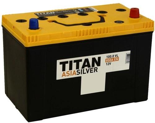Аккумулятор TITAN ASIA SILVER 100ah, 6СТ-100.0 VL B01