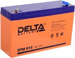 Аккумулятор Delta DTM 612 (6V / 12Ah)