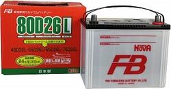 Аккумулятор автомобильный Furukawa FB Super Nova 80D26L
