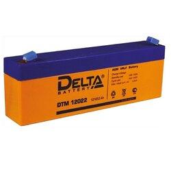 Аккумулятор Delta DTM 12022 (12V / 2.2Ah)