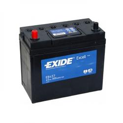 Аккумулятор автомобильный Exide EB457 45 А/ч 300А тонкие клеммы