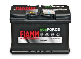 Аккумулятор FIAMM ECOFORCE AGM VR760 Start-Stop