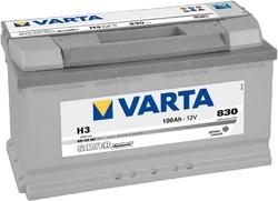 VARTA Silver dynamic-100Ач (H3)  100А/ч  830А