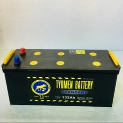 Аккумулятор грузовой Тюмень STANDARD 132 а/ч о.п. 6СТ-132