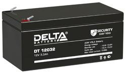 Аккумулятор Delta DT 12032 (12V / 3.3Ah)