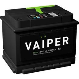 Аккумулятор VAIPER 60ah, 6СТ-60.1-L