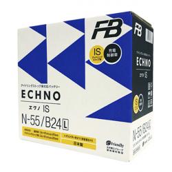 Аккумулятор автомобильный Furukawa FB ECHNO IS N-55/B24L