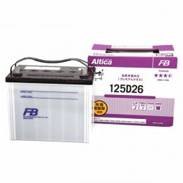 Аккумулятор автомобильный Furukawa FB Altica PREMIUM 125D26R