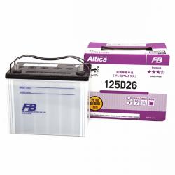 Аккумулятор автомобильный Furukawa FB Altica PREMIUM 125D26L