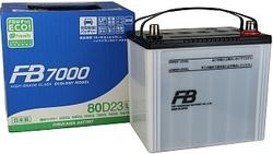 Аккумулятор автомобильный FB 7000 80D23L