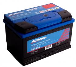 Аккумулятор автомобильный AC Delco 74 Ач 750A