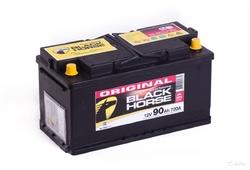 Аккумулятор автомобильный Black Horse 90А/ч 720А