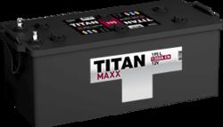 Аккумулятор грузовой TITAN MAXX 195ah 6СТ-195.3 L