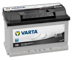 VARTA Black dynamic-70Ач (E9)  70А/ч  640А
