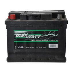 Аккумулятор автомобильный Gigawatt G55L 56А/ч 480A