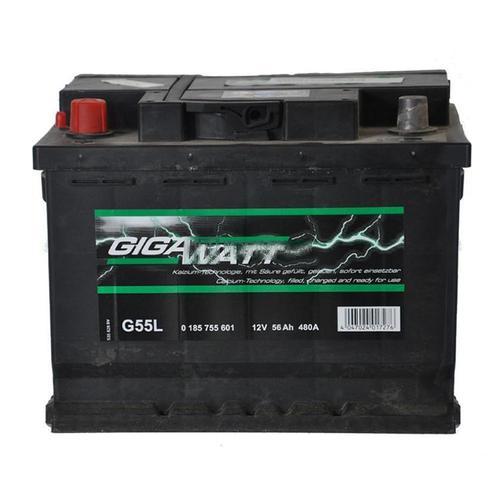 GIGAWATT G55L 56А/ч  480A