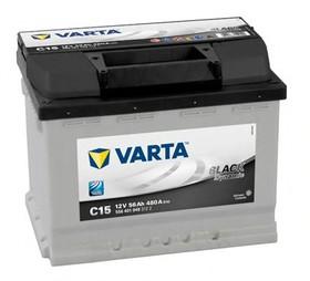 Аккумулятор автомобильный Varta black dynamic C15 (556401048)