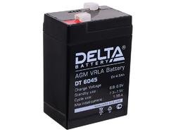 Аккумулятор Delta DT 6045 (6V / 4.5Ah)