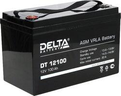 Аккумулятор Delta DT 12100 (12V / 100Ah)