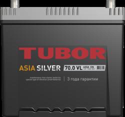 Аккумулятор автомобильный TUBOR ASIASILVER 70ah 6СТ-70.0 VL B01