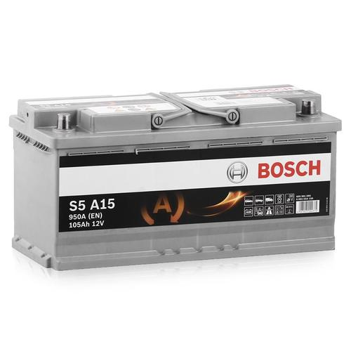 BOSCH S5 AGM ( S5A 150)  105А/ч  950А START-STOP