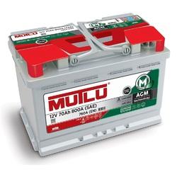 Аккумулятор автомобильный Mutlu 70 а/ч AGM L3.70.076.A