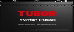 Аккумулятор грузовой TUBOR STANDART 190ah 6СТ-190.3 L