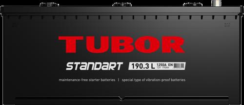 Аккумулятор TUBOR STANDART 190ah, 6СТ-190.3 L