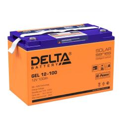 Аккумулятор Delta GEL 12-100 (12V / 100Ah)